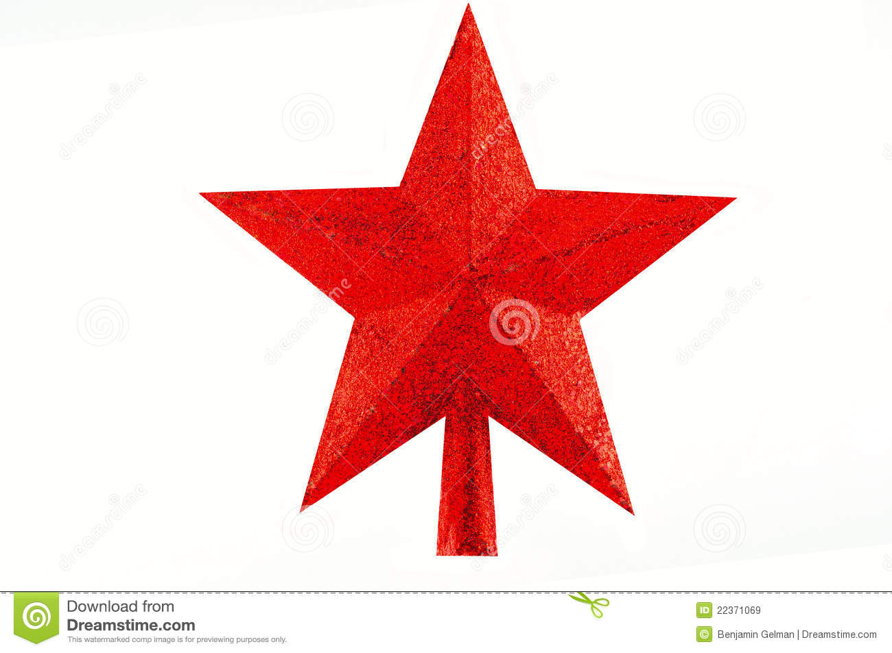 Star For Christmas Tree Royalty Free Stock Images