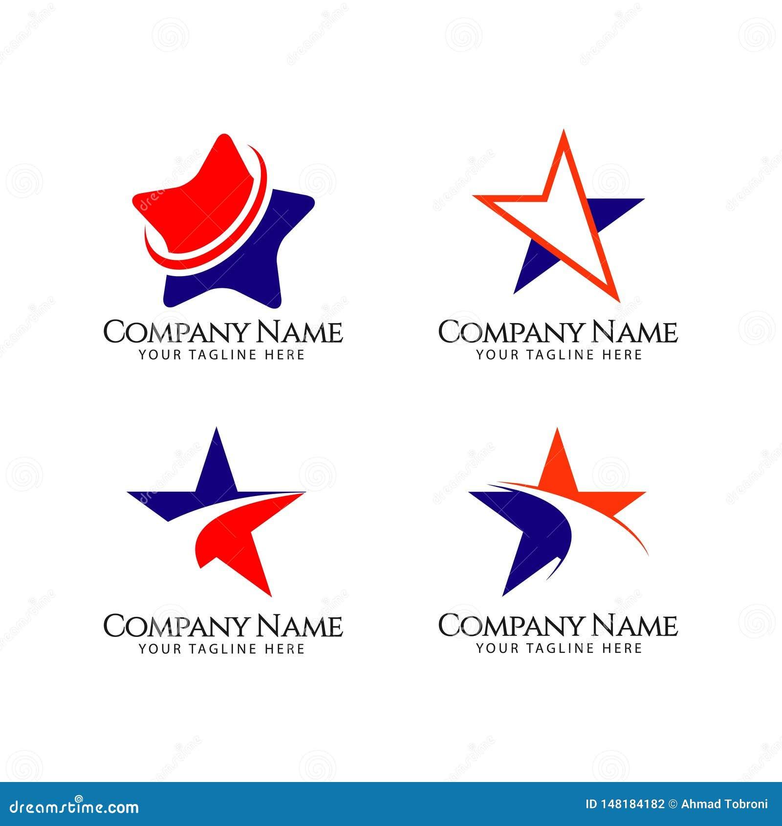 Star Company Logo Vector Template Design Illustration