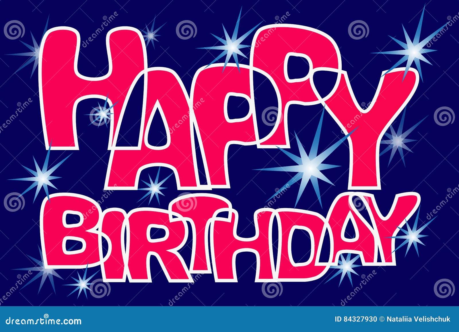 star congratulations happy birthday
