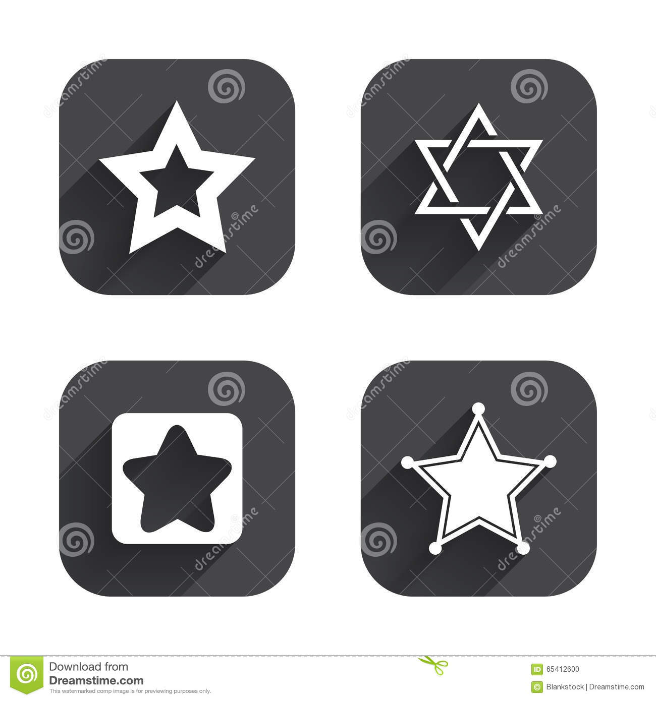 Star of david icons symbol of israel stock vector illustration star of david icons symbol of israel biocorpaavc Choice Image