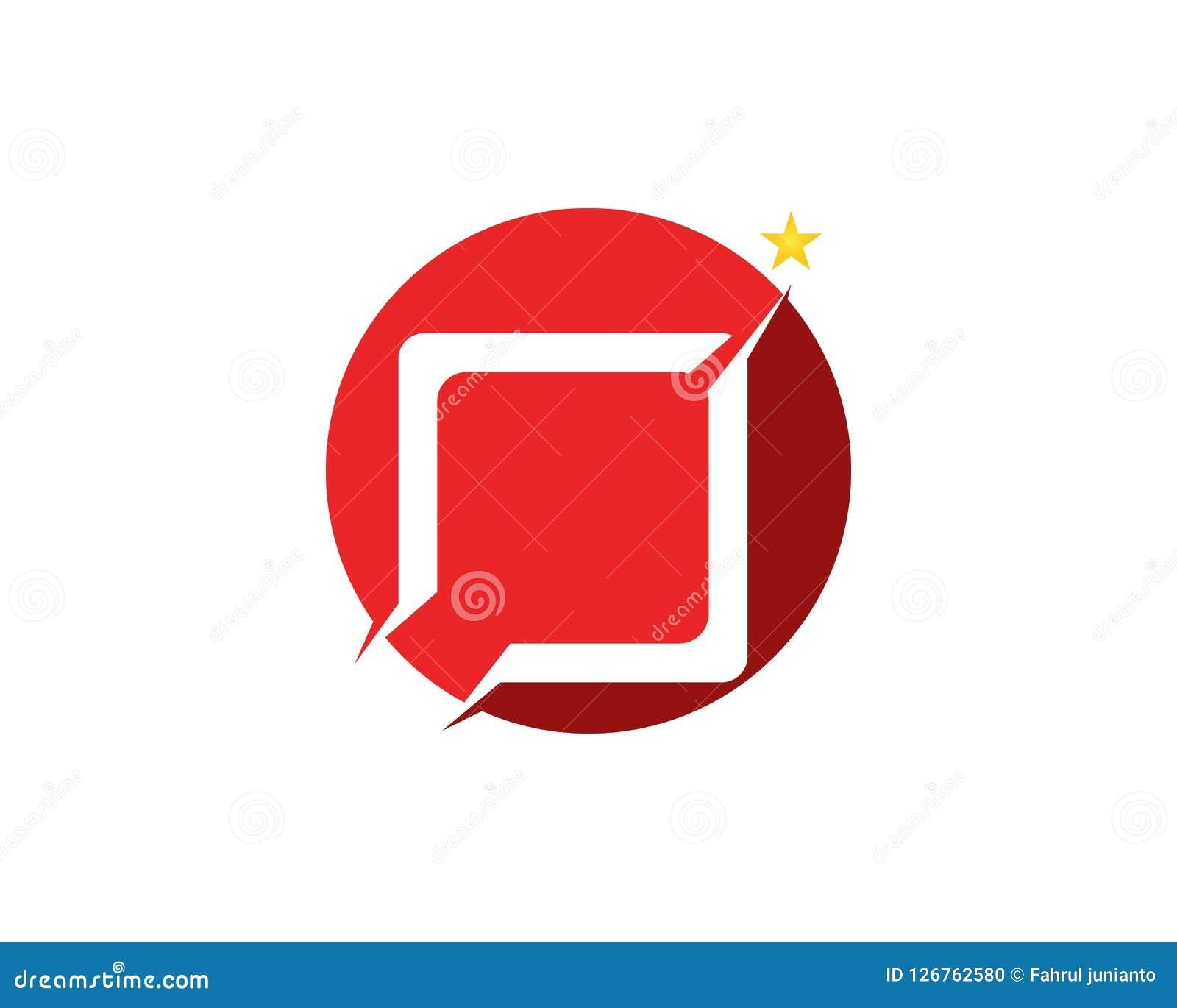 Star faster logo design template.  Stock Illustration