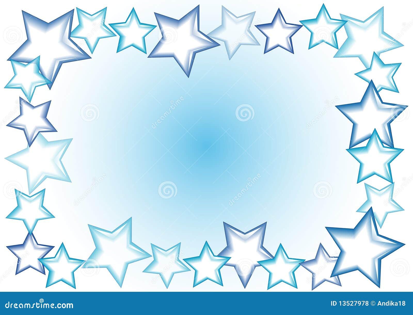 Star frame stock illustration. Illustration of card, celebration ...