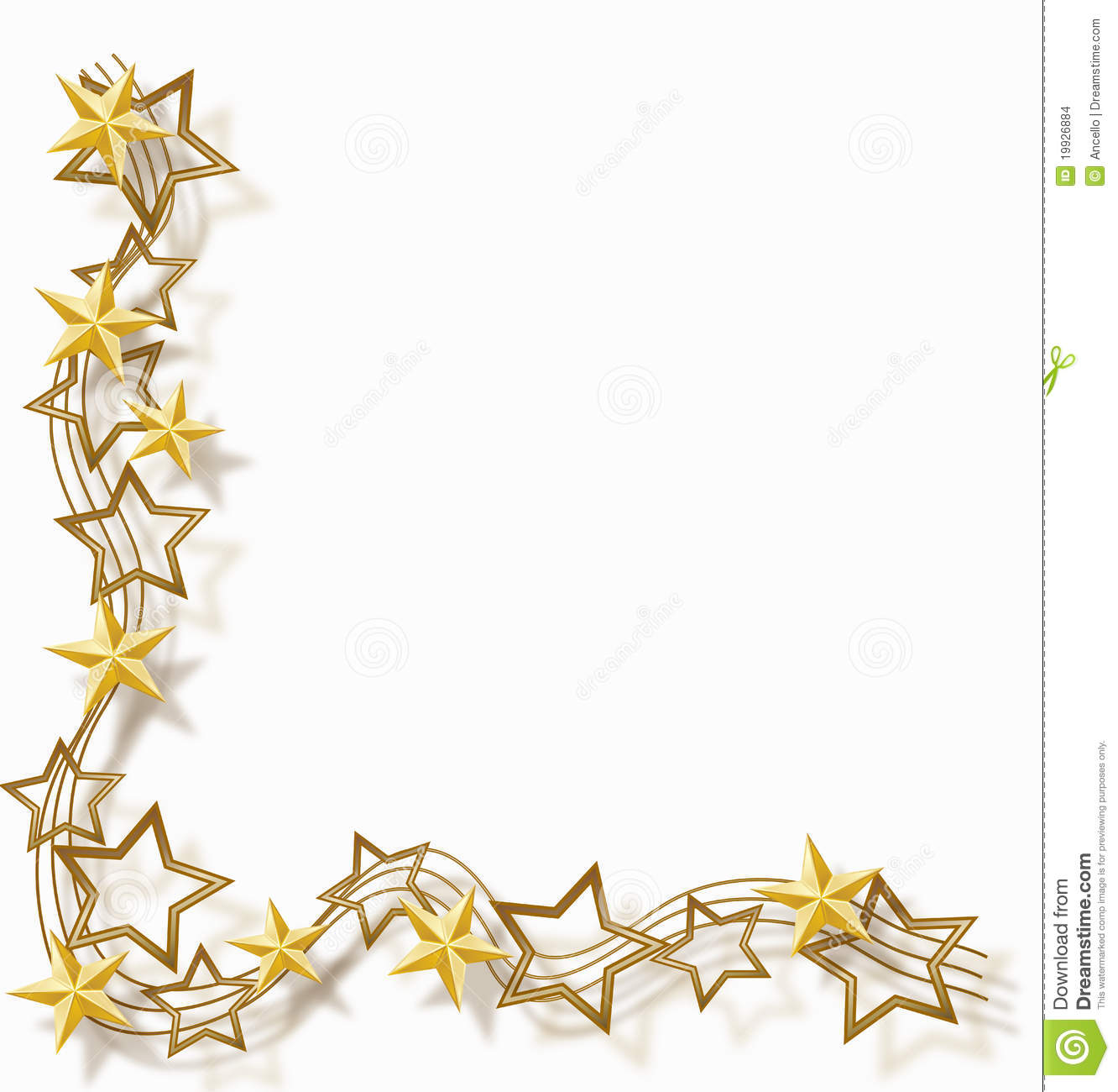 Star Frame Stock Images  Image: 19926884