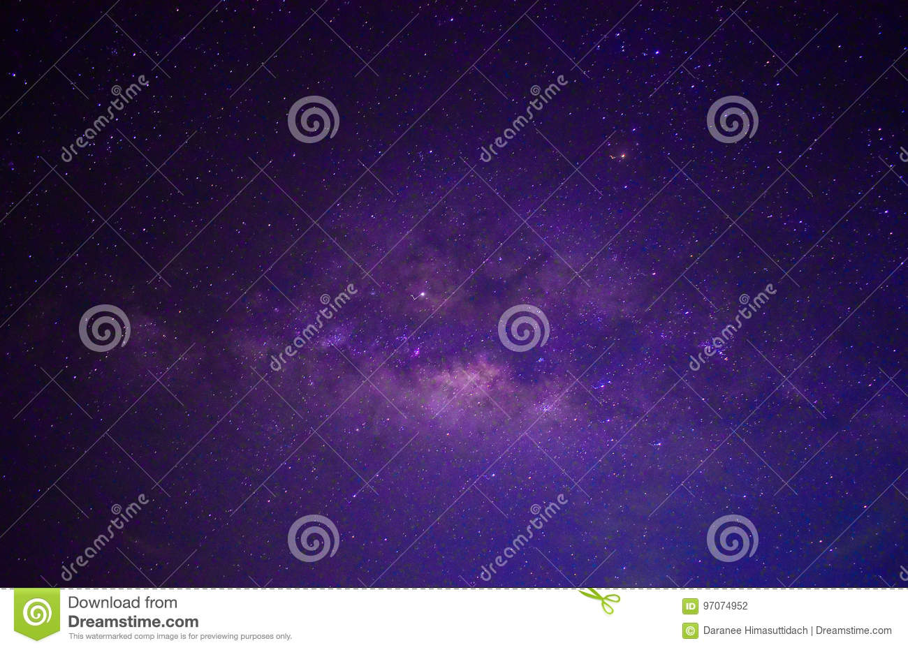 Star of the galaxy Sky Night Background
