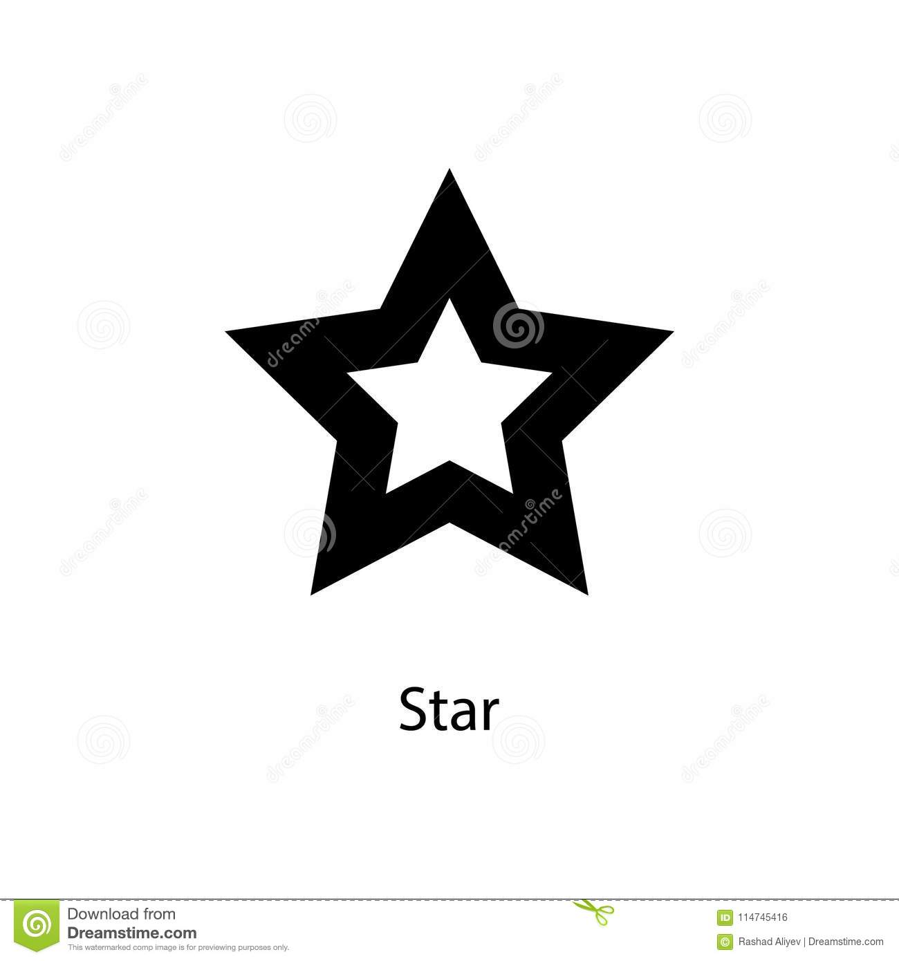Star Icon Element Of Minimalistic Icon For Mobile Concept And Web