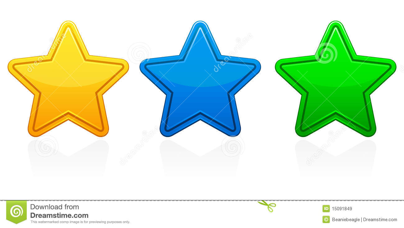 Star Icons Eps Royalty Free Stock Images Image 15091849