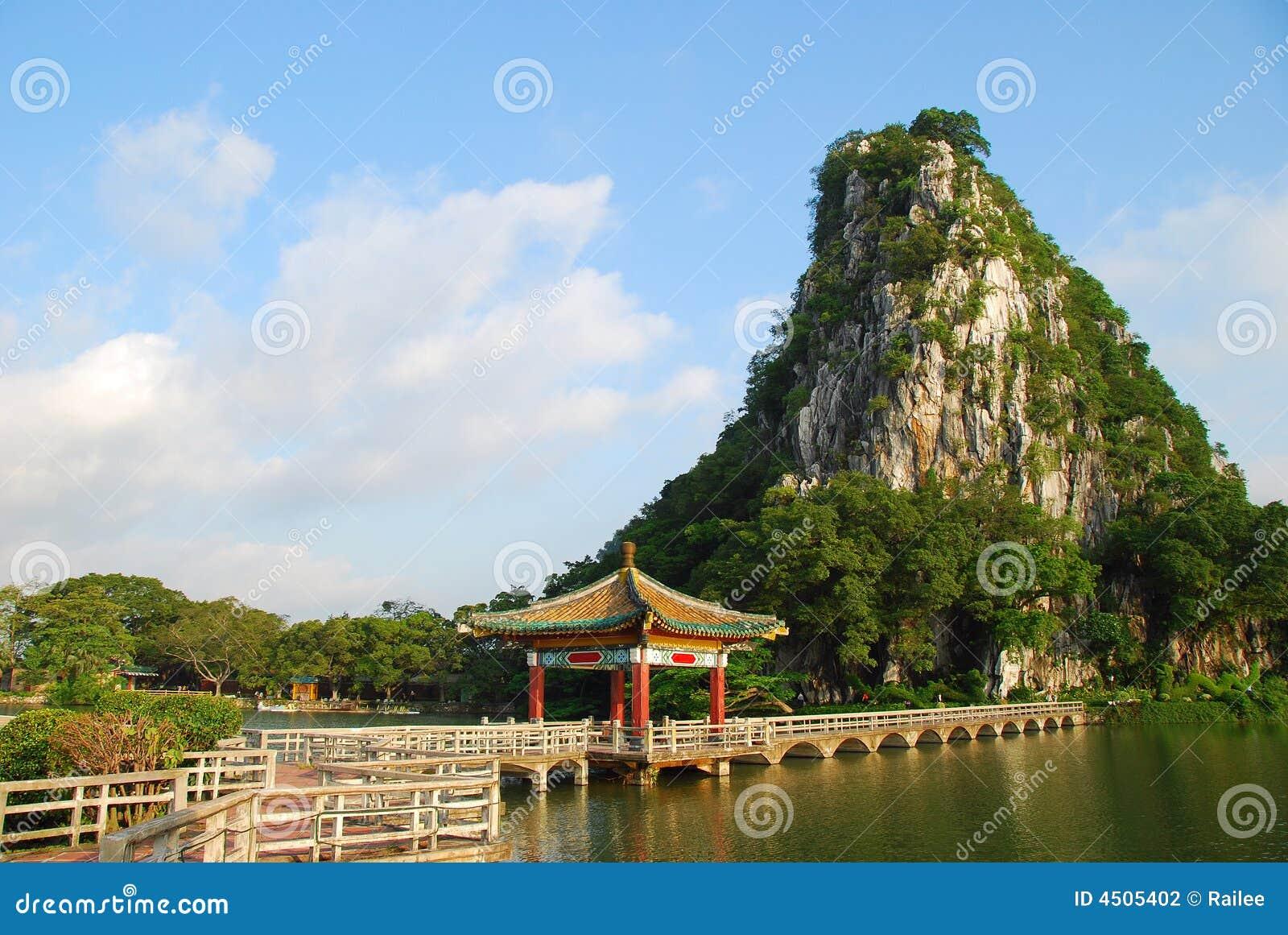 Zhaoqing China  city photos : The Star Lake 3 in Zhaoqing,China Stock Photography Image: 4505402