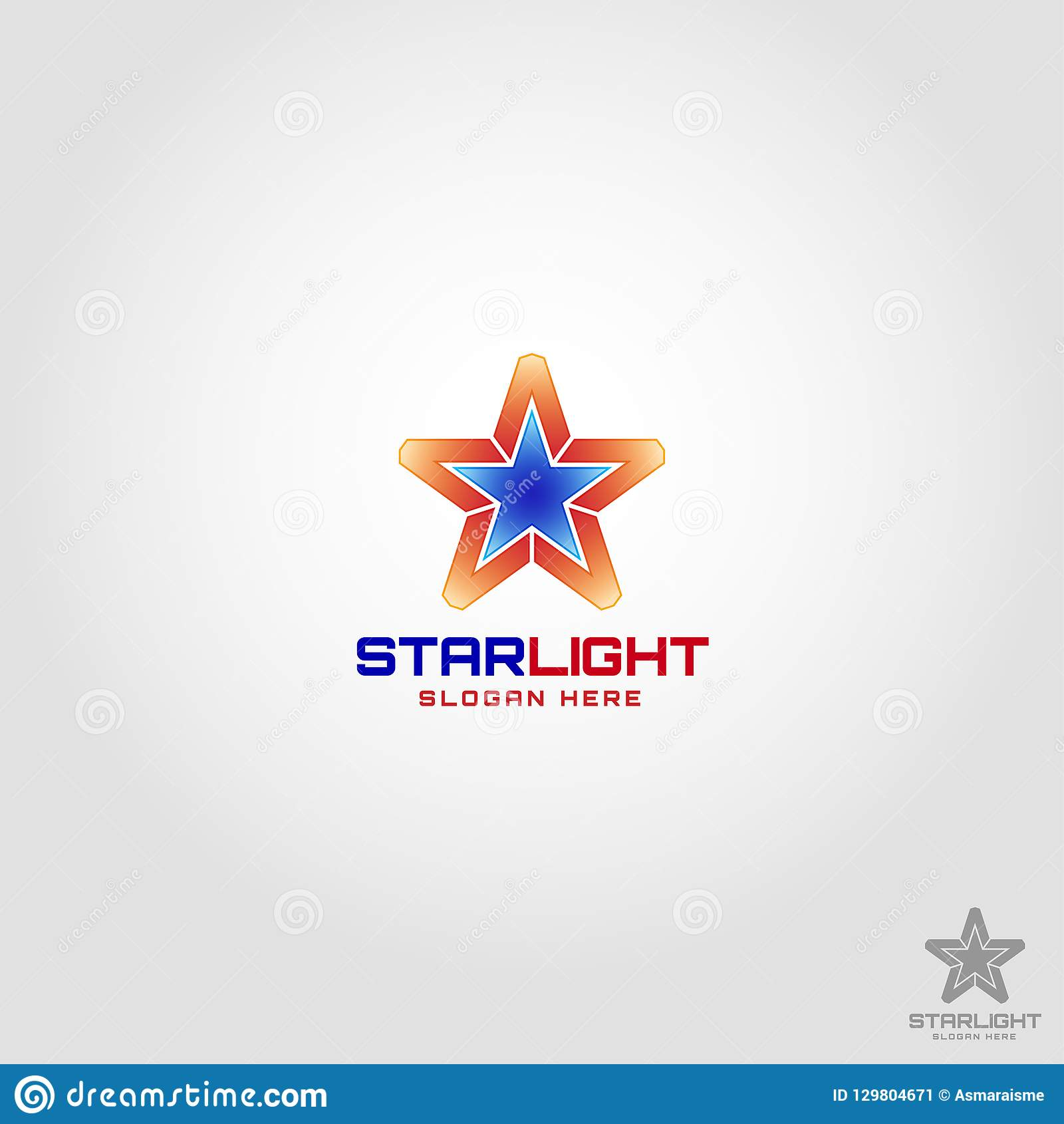 Star Light Logo template