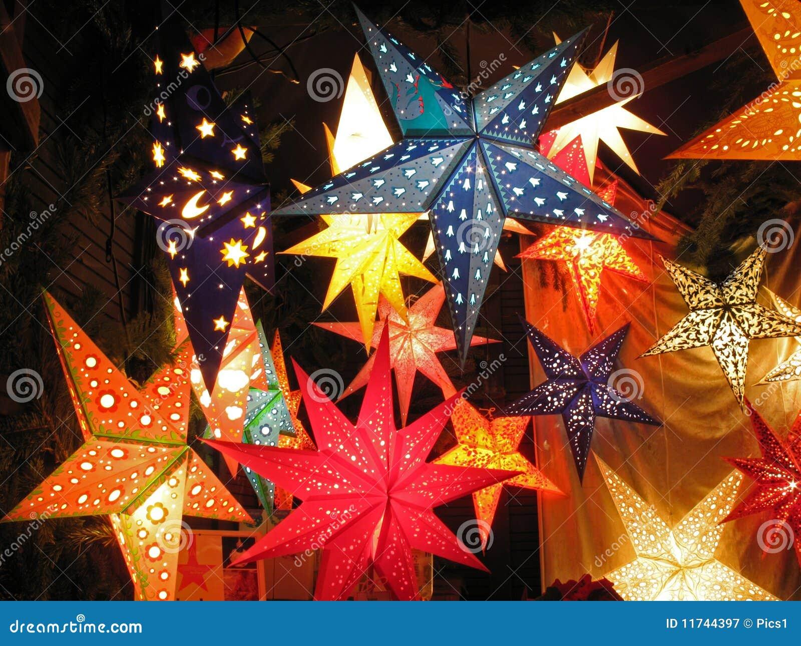 White Hanging Christmas Lights