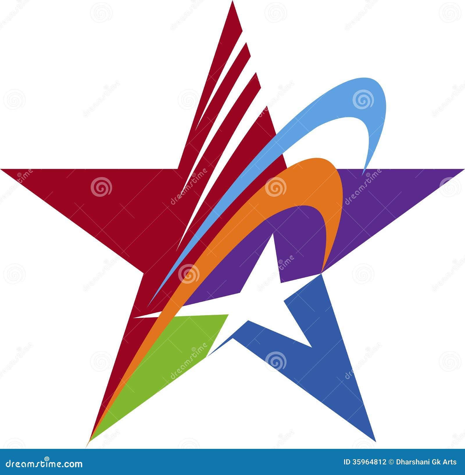 Star Logo Stock Vector - Image: 40658895