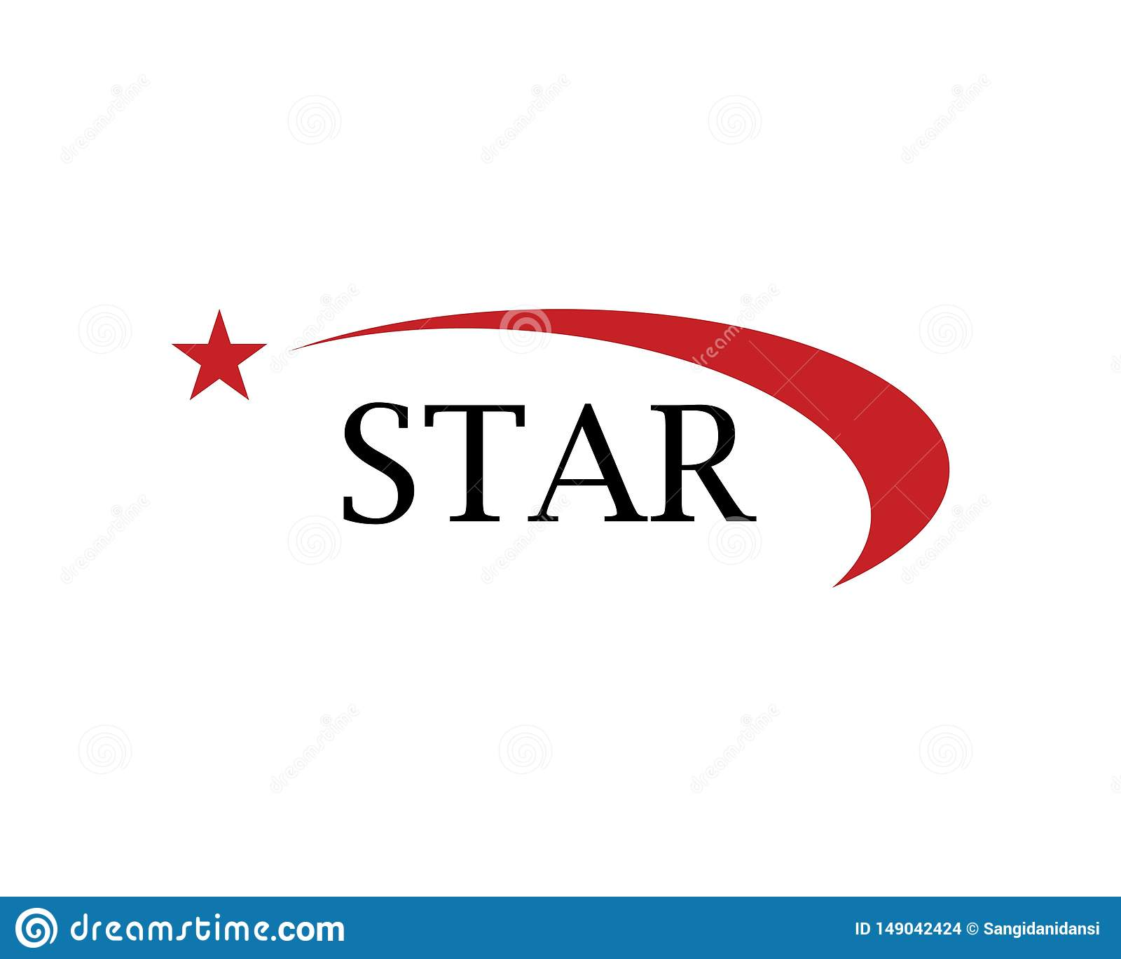 Star Logo Template vector icon illustration