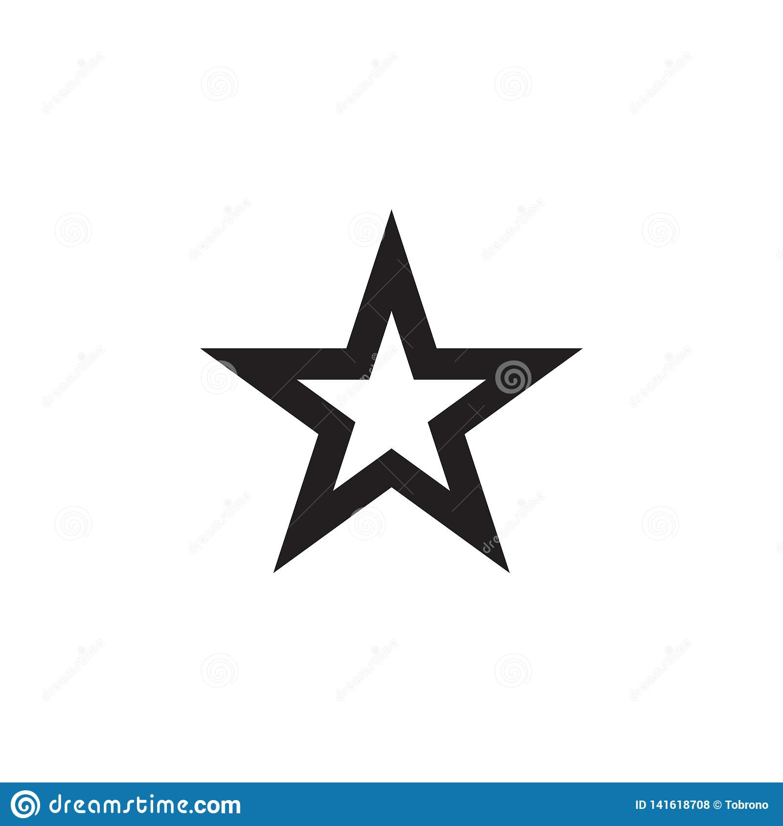 Star Logo Vector Template Design Illustration