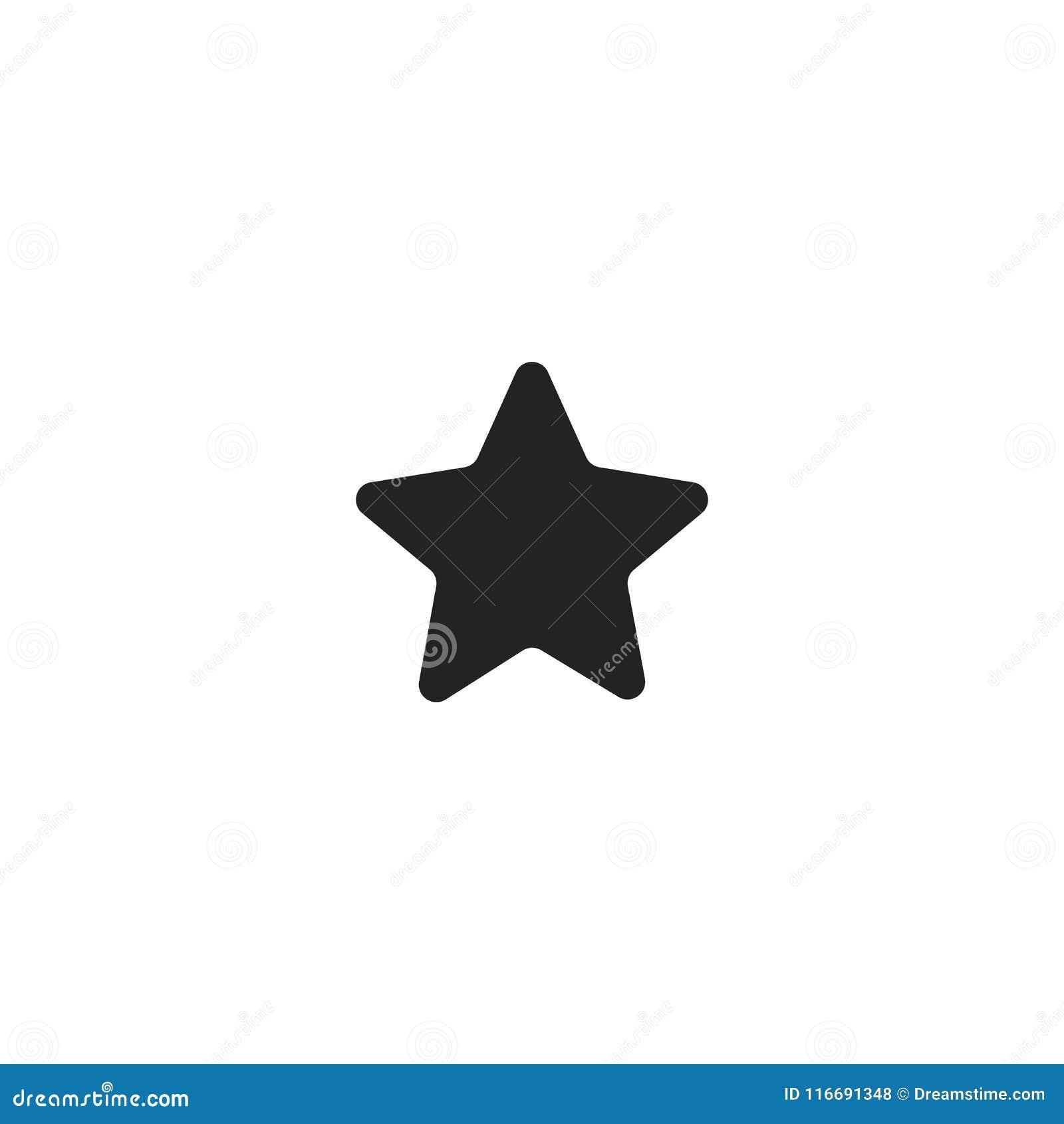 Star Monogram Style Icon Stock Illustration Illustration Of Button 116691348