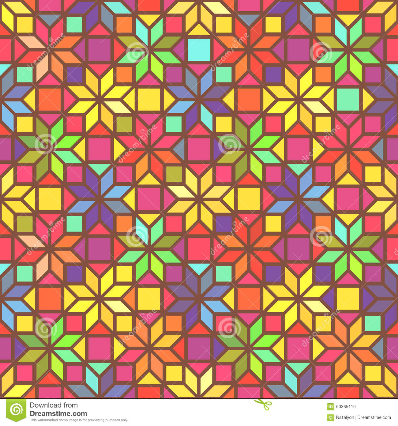 Colorful Stained Glass Pattern Stock Photos Image 11496483