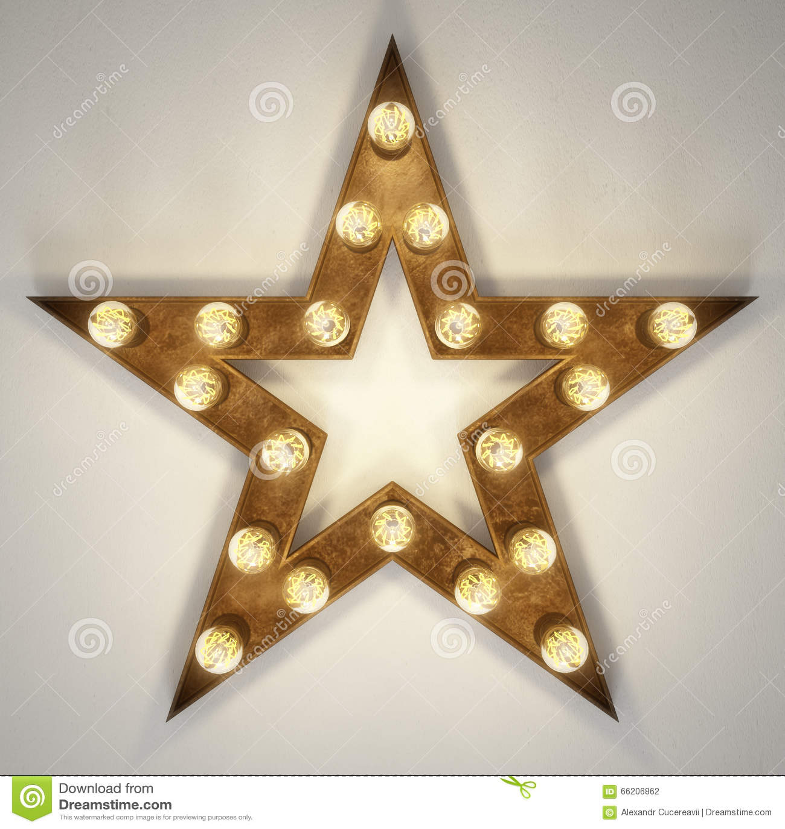 Star shaped light decor stock illustration illustration of bronze star shaped light decor kristyandbryce Images