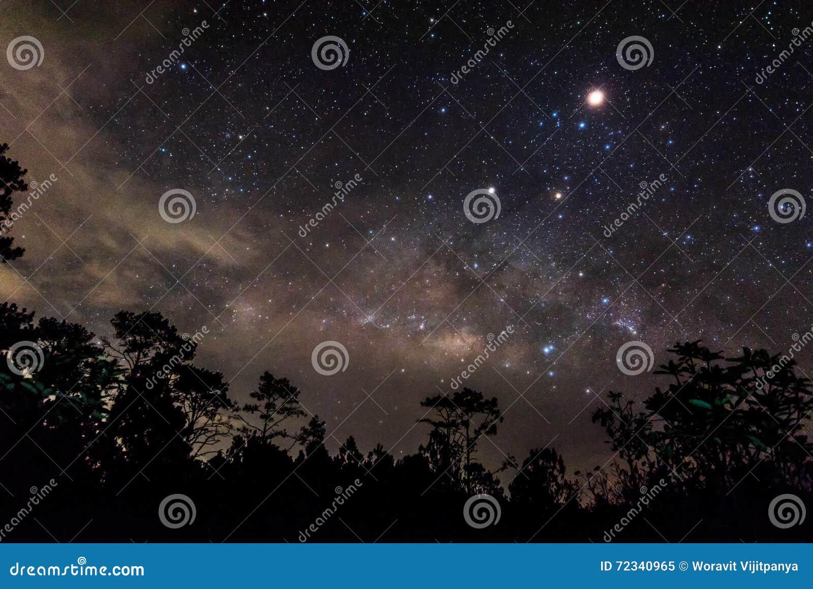 Star in the sky Night