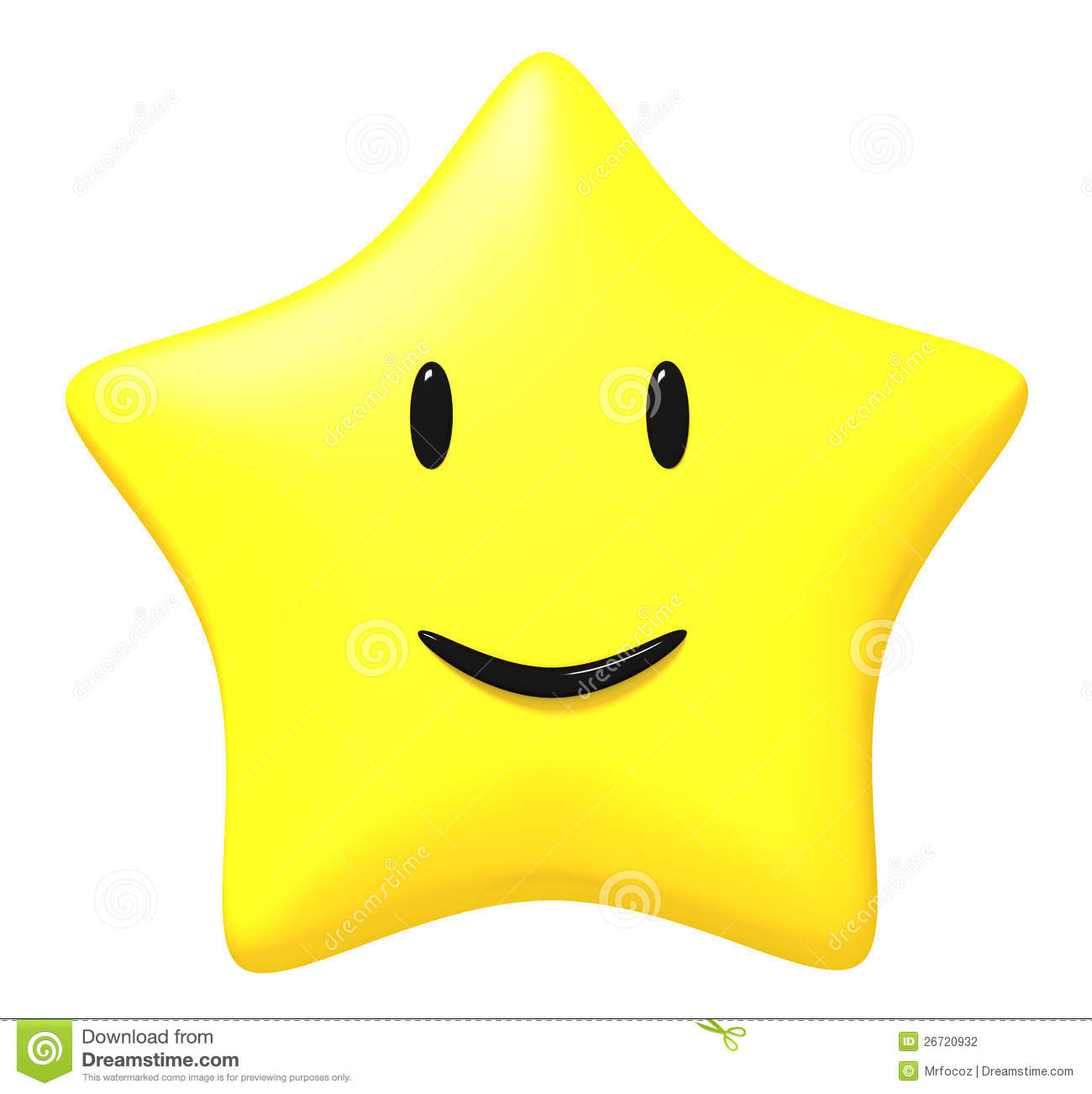 Star Smile Stock Photography Image 26720932