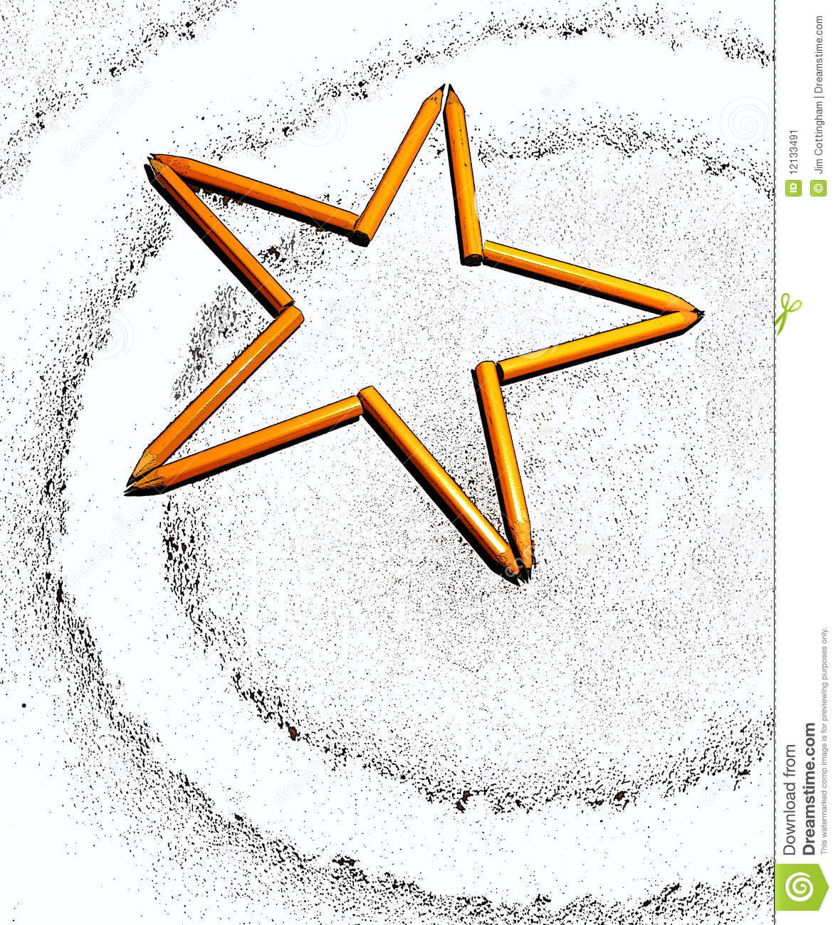 Star Symbol Stock Image Image Of Star Lead Background 12133491