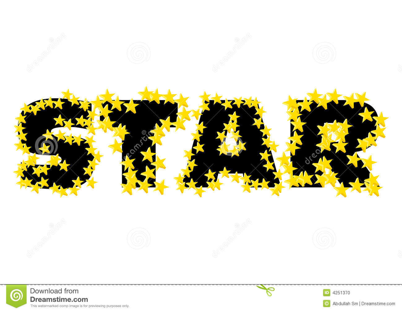 text star