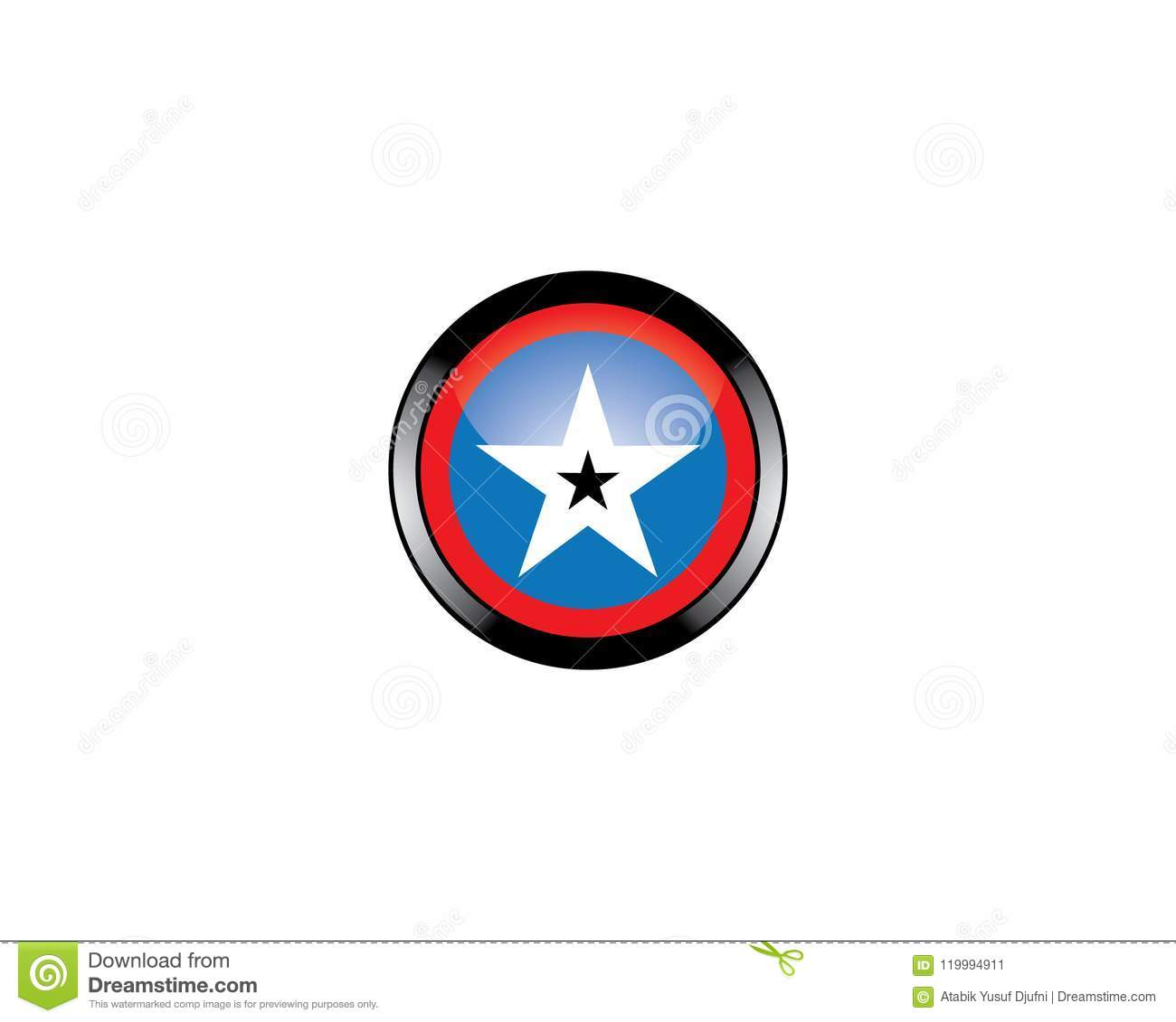Star Vector Icon Stock Illustration Of Leader
