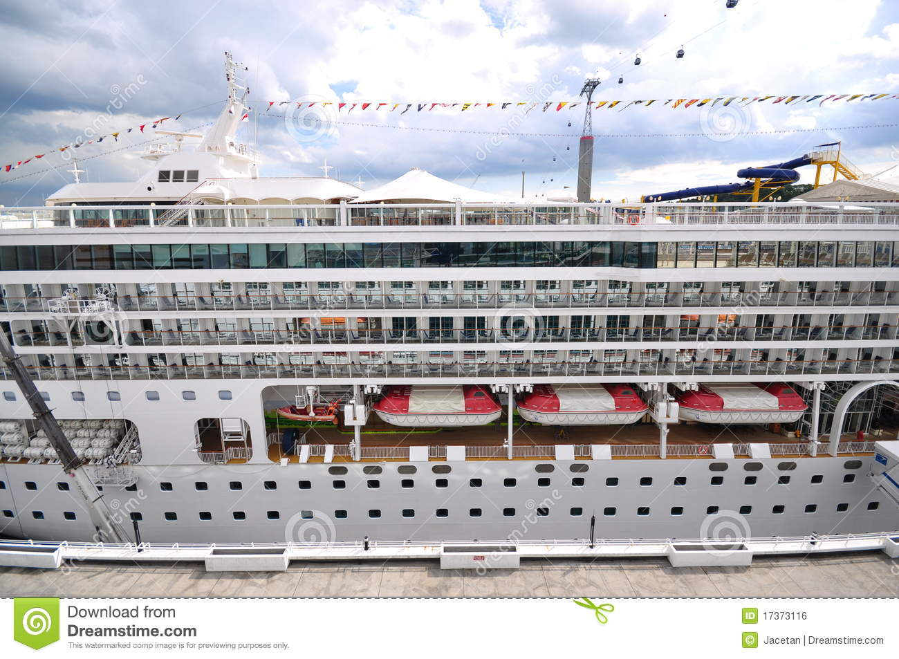 Star Virgo Cruise Ship Side View Editorial Photo Image 17373116