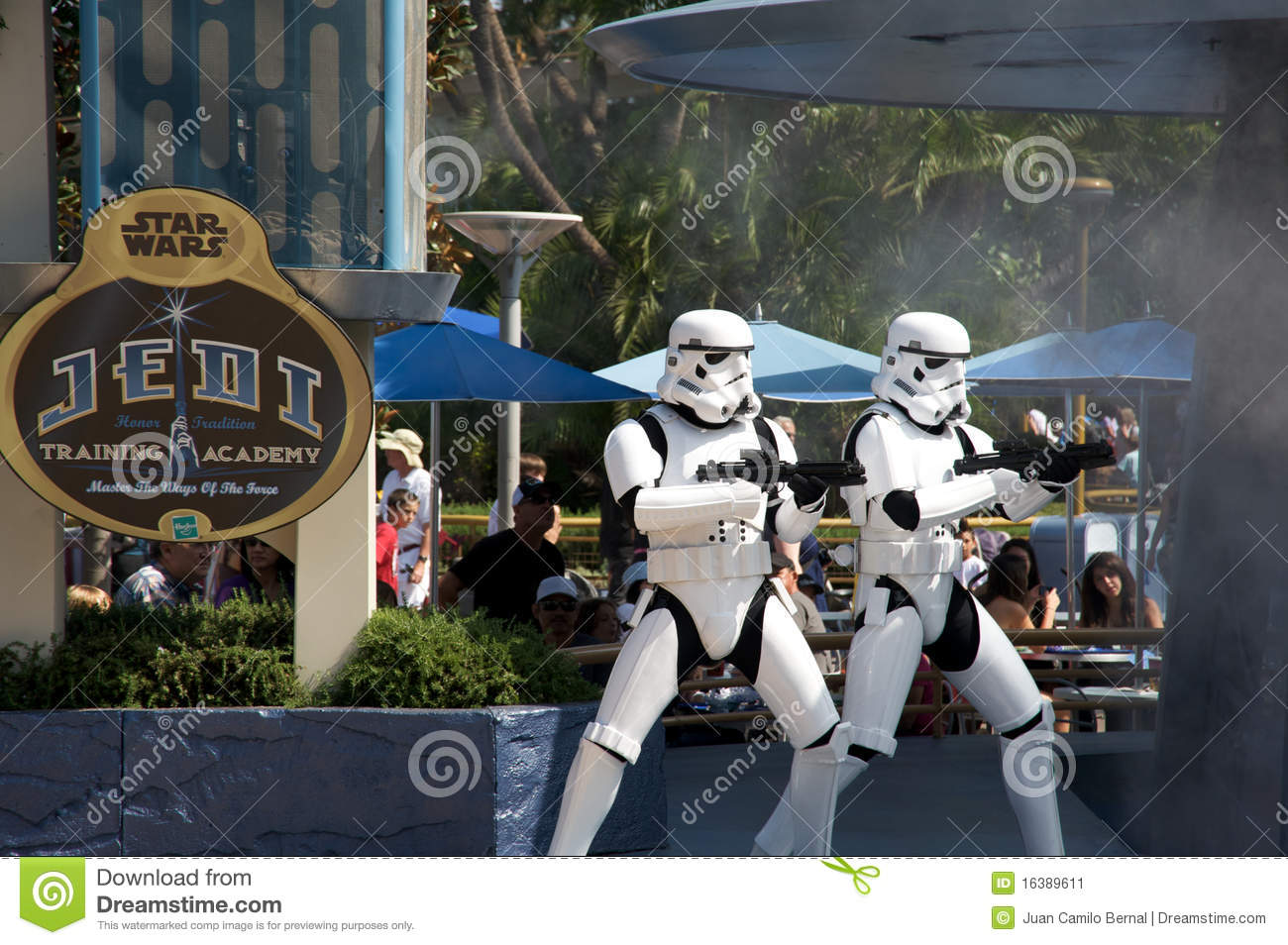 Star Wars en Disneylandya