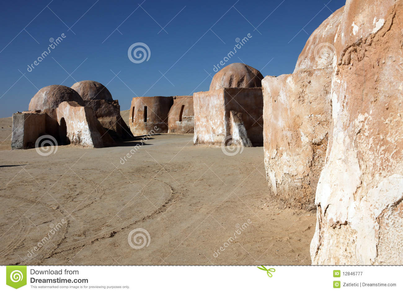 Star Wars Village Royalty Free Stock Photography