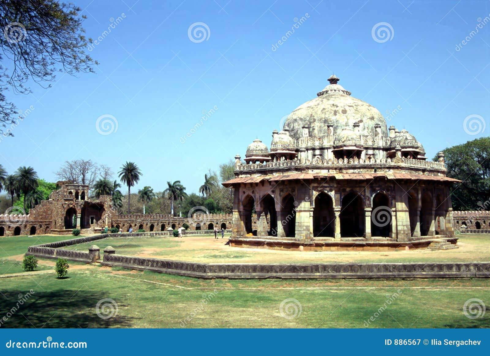 Stara świątynia delhi.