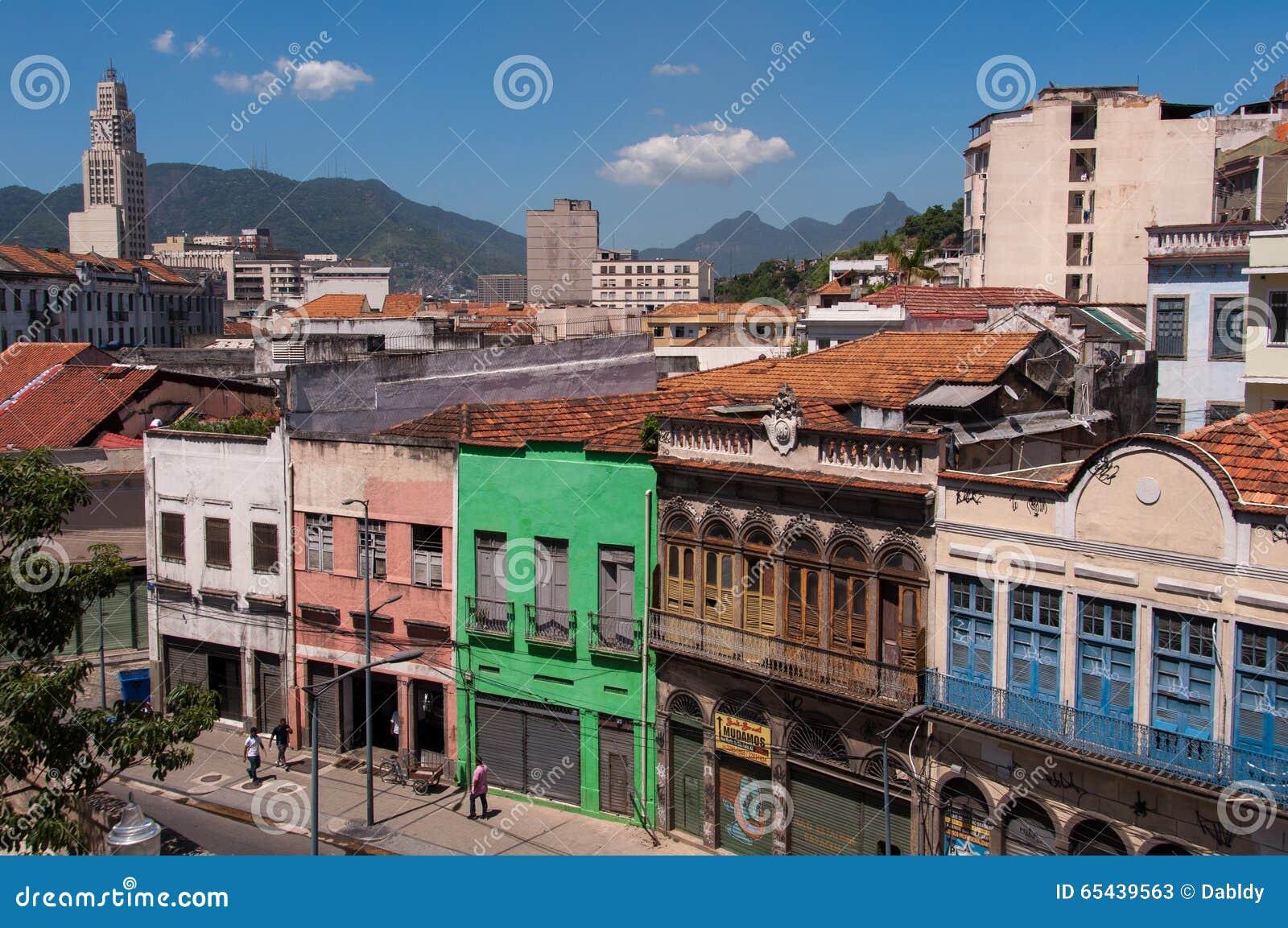 Stara część Rio De Janeiro