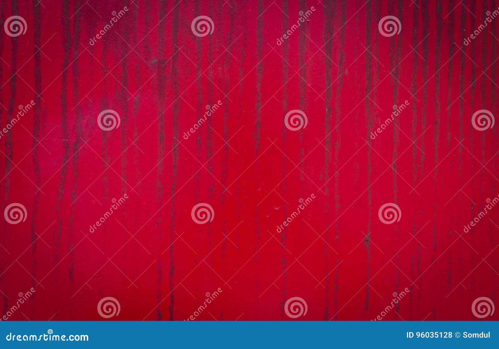 Stara czerwieni ściana
