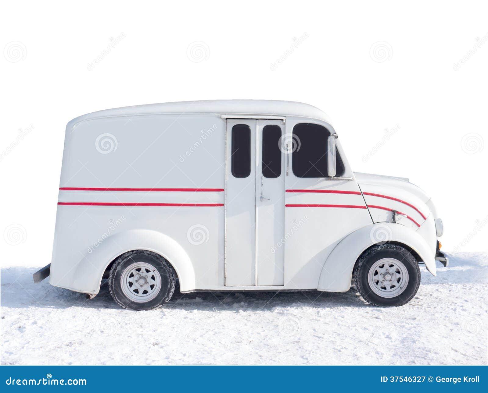 Stara Divco Doręczeniowa ciężarówka
