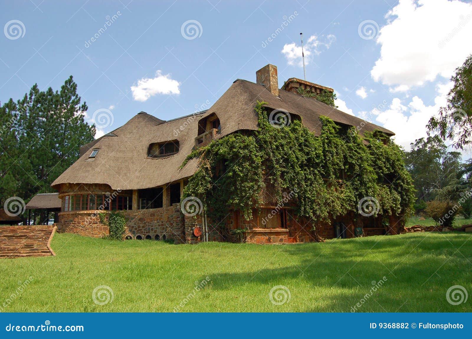 Stara domowa kraj rezydencja ziemska