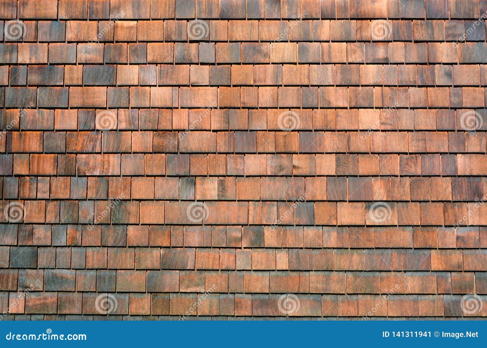 Stara drewniana gont ściana gonty texture drewnianego