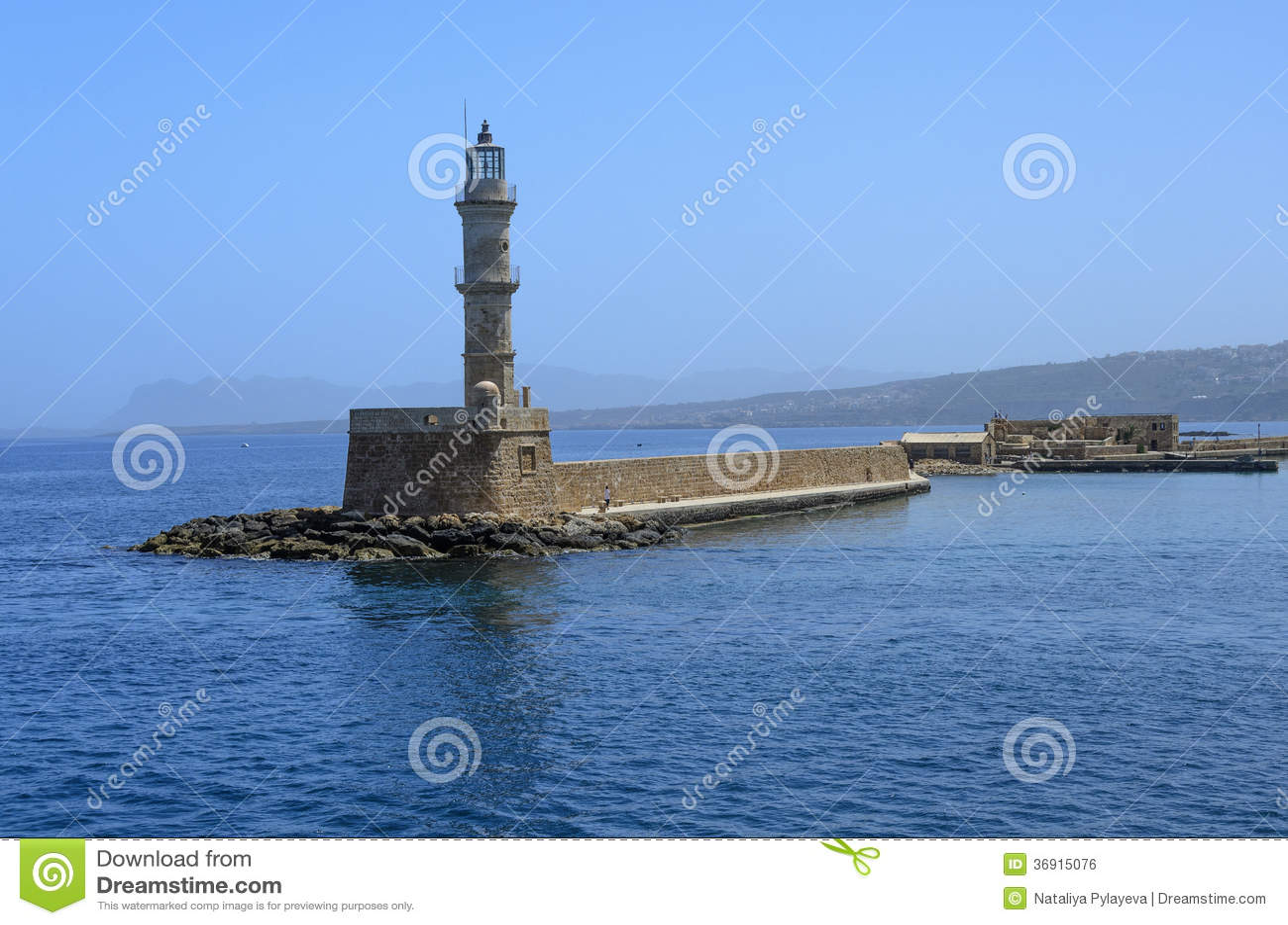 Stara Egipska latarnia morska w Chania