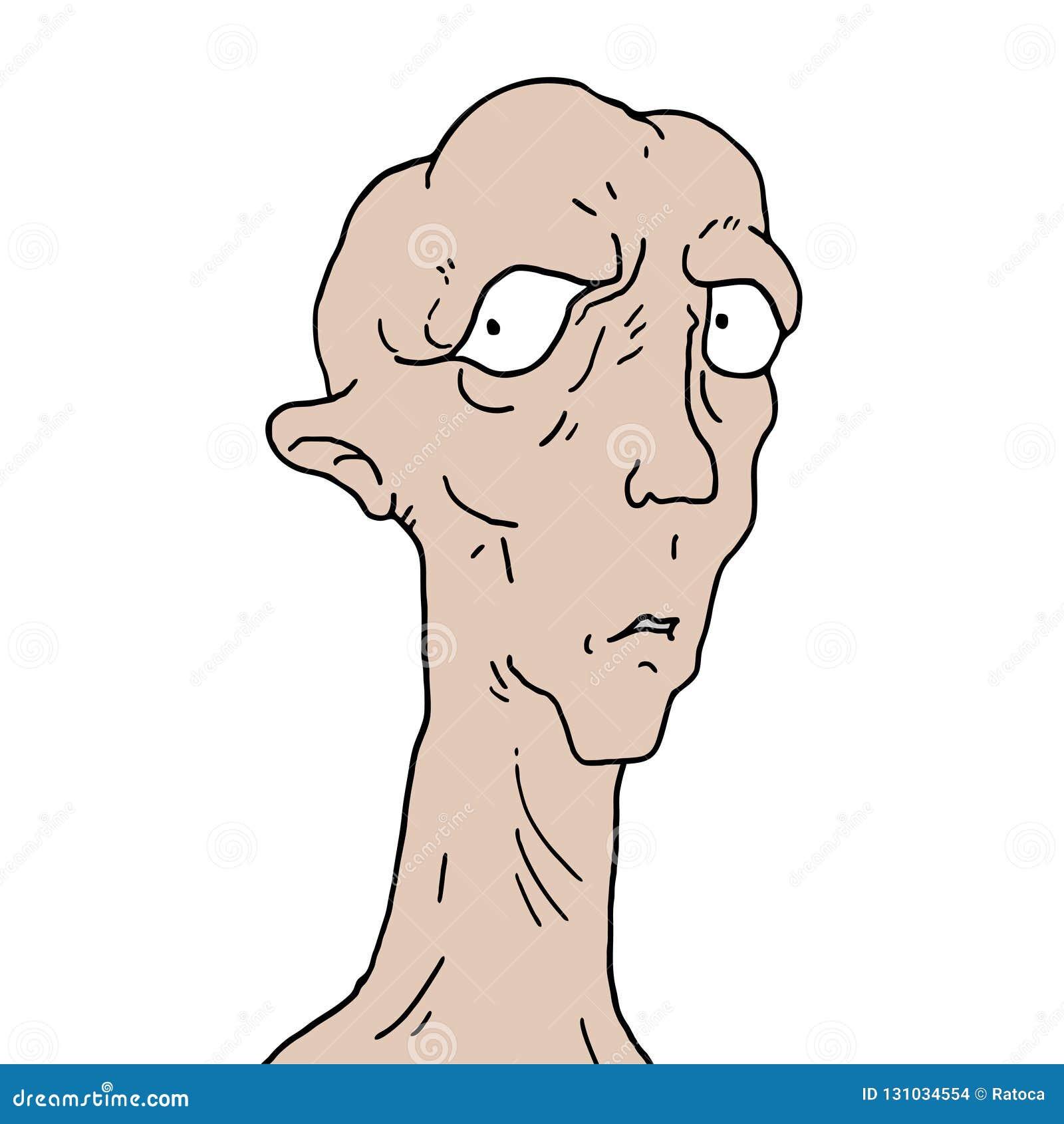 Stara elf twarz
