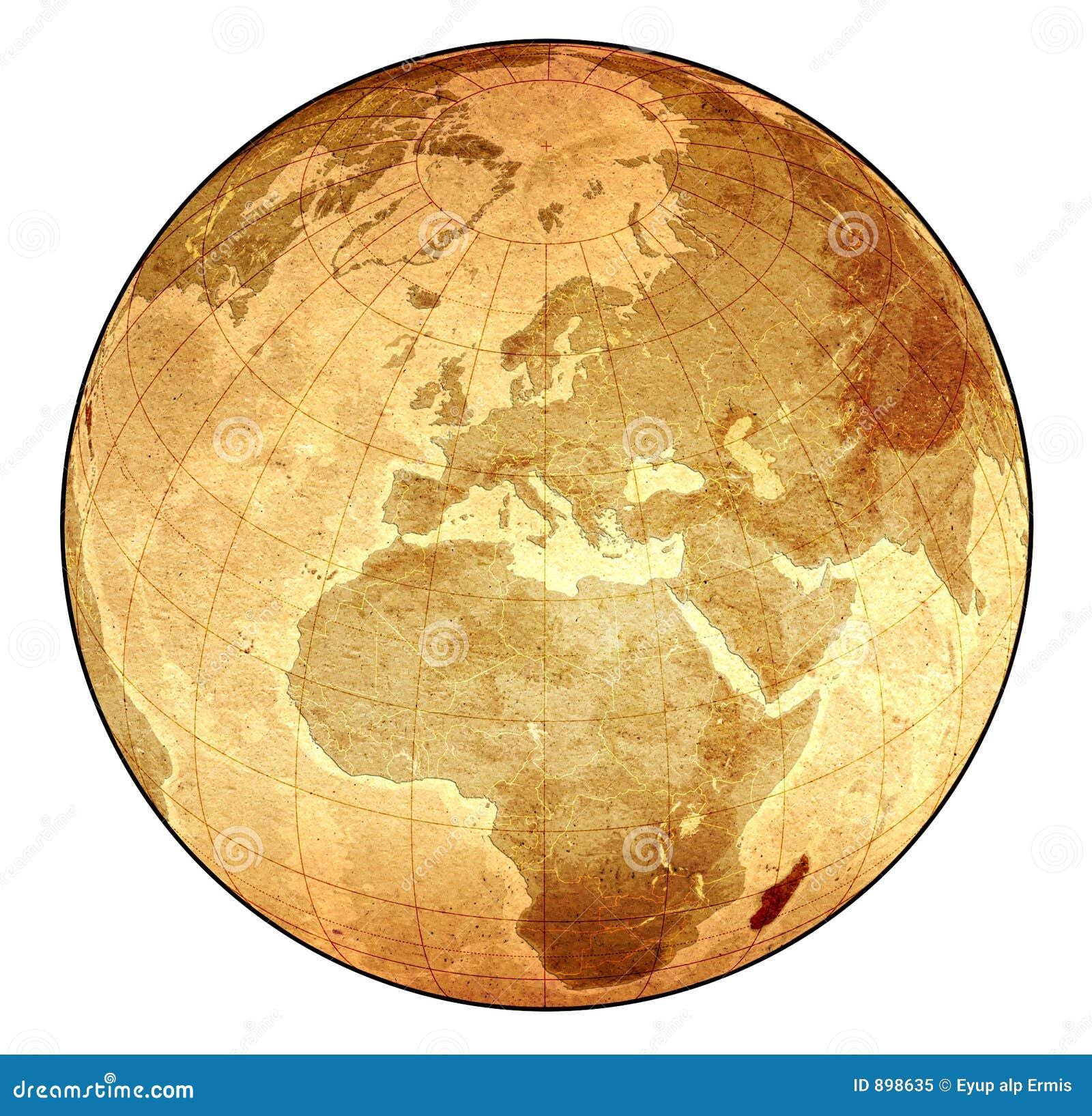 Stara globus