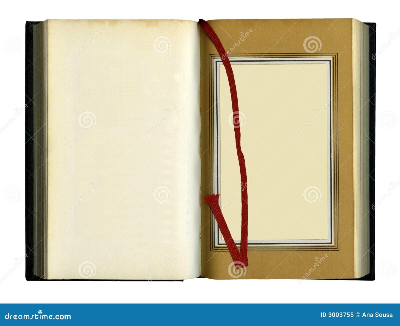Stara książka otwarty