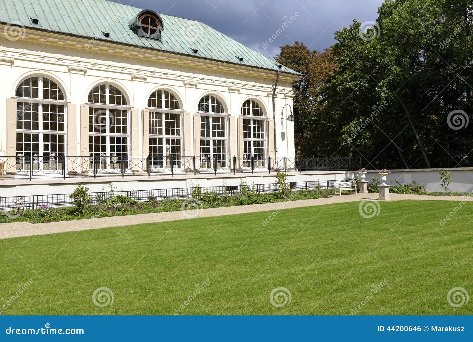 Stara Oranżeria W Lazienki W Warszawa W Polska Zdjęcie