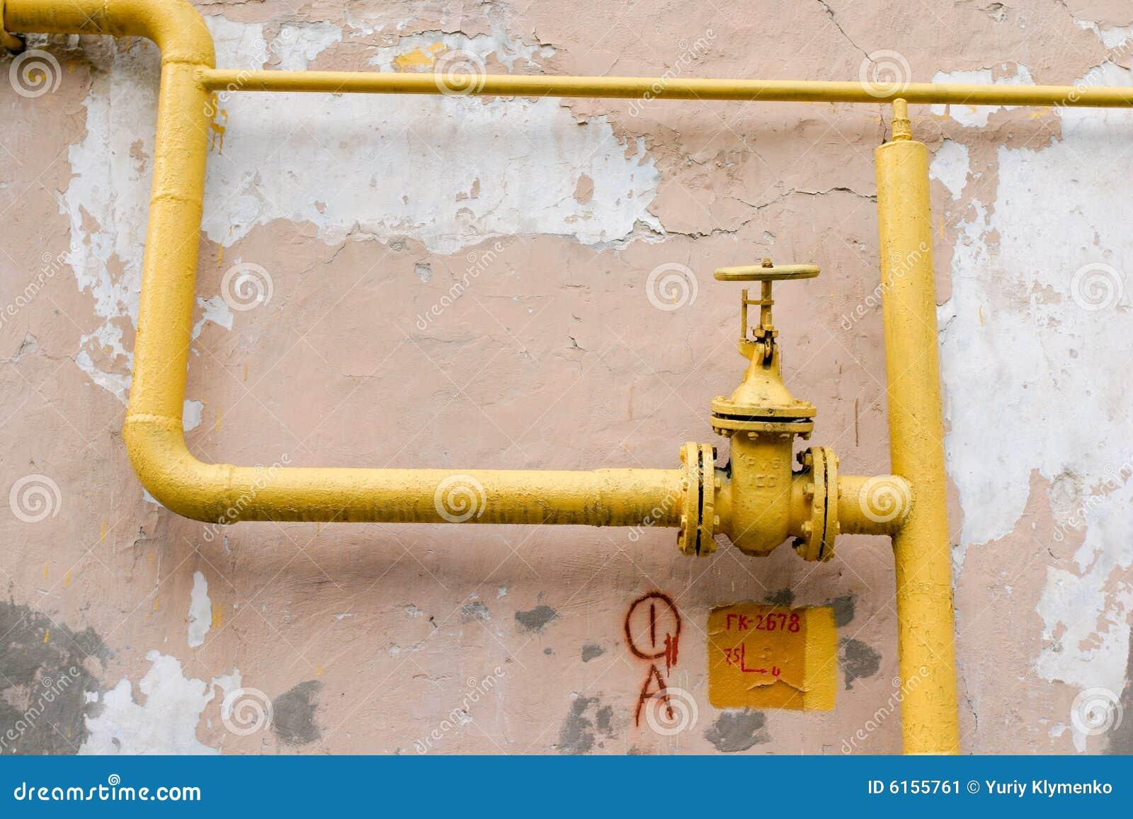 Stara rura gazowa