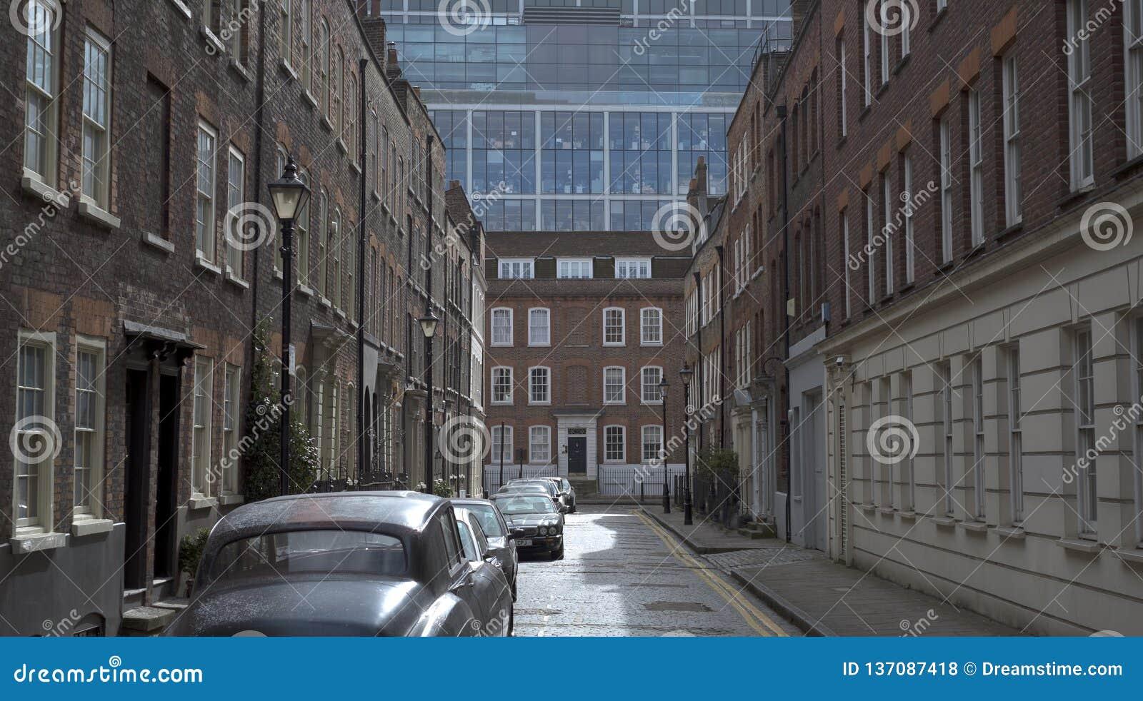 Stara ulica, Spitalfields, Londyn