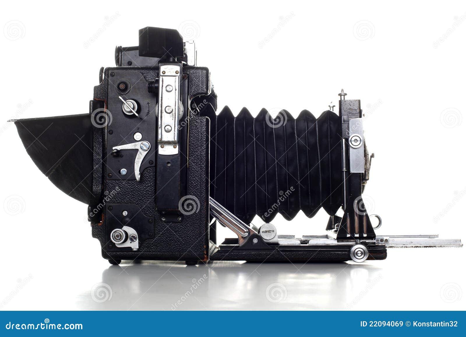 Stara wielkiego formata Prasy kamera