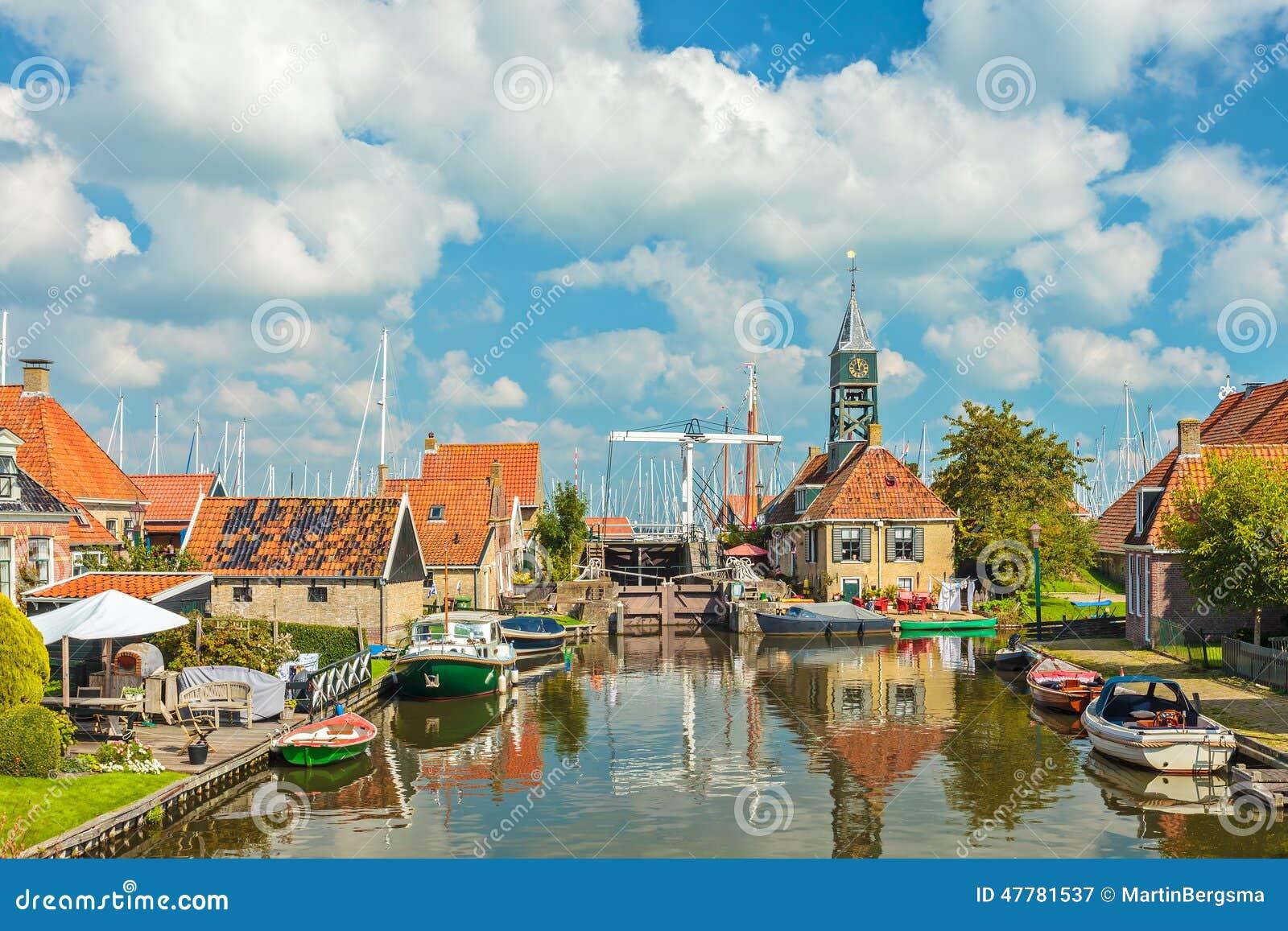 Stara wioska Hindeloopen holandie