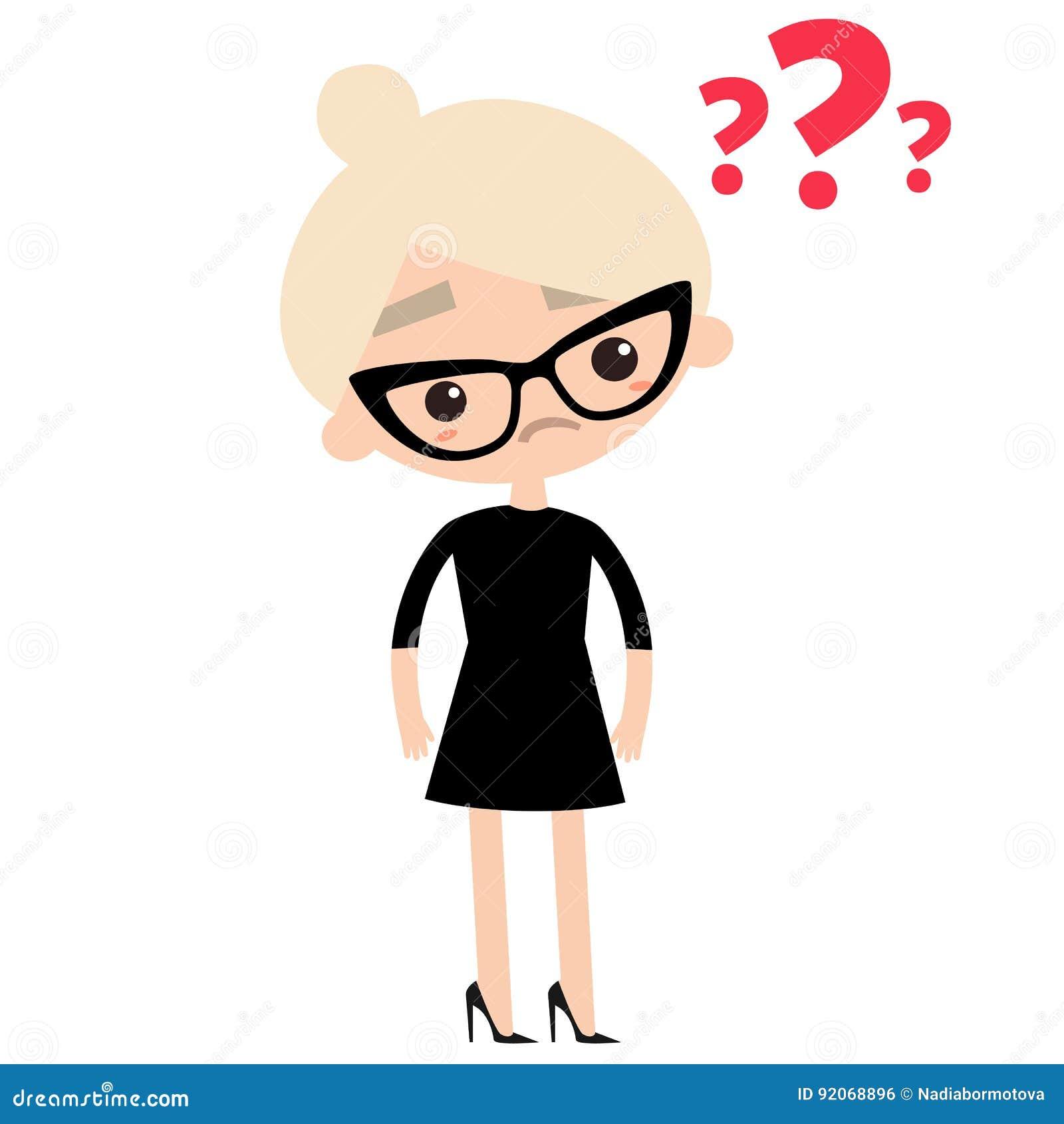 Staranna biznesowa dama jest ubranym eleganckich szkła i czerń ubieramy