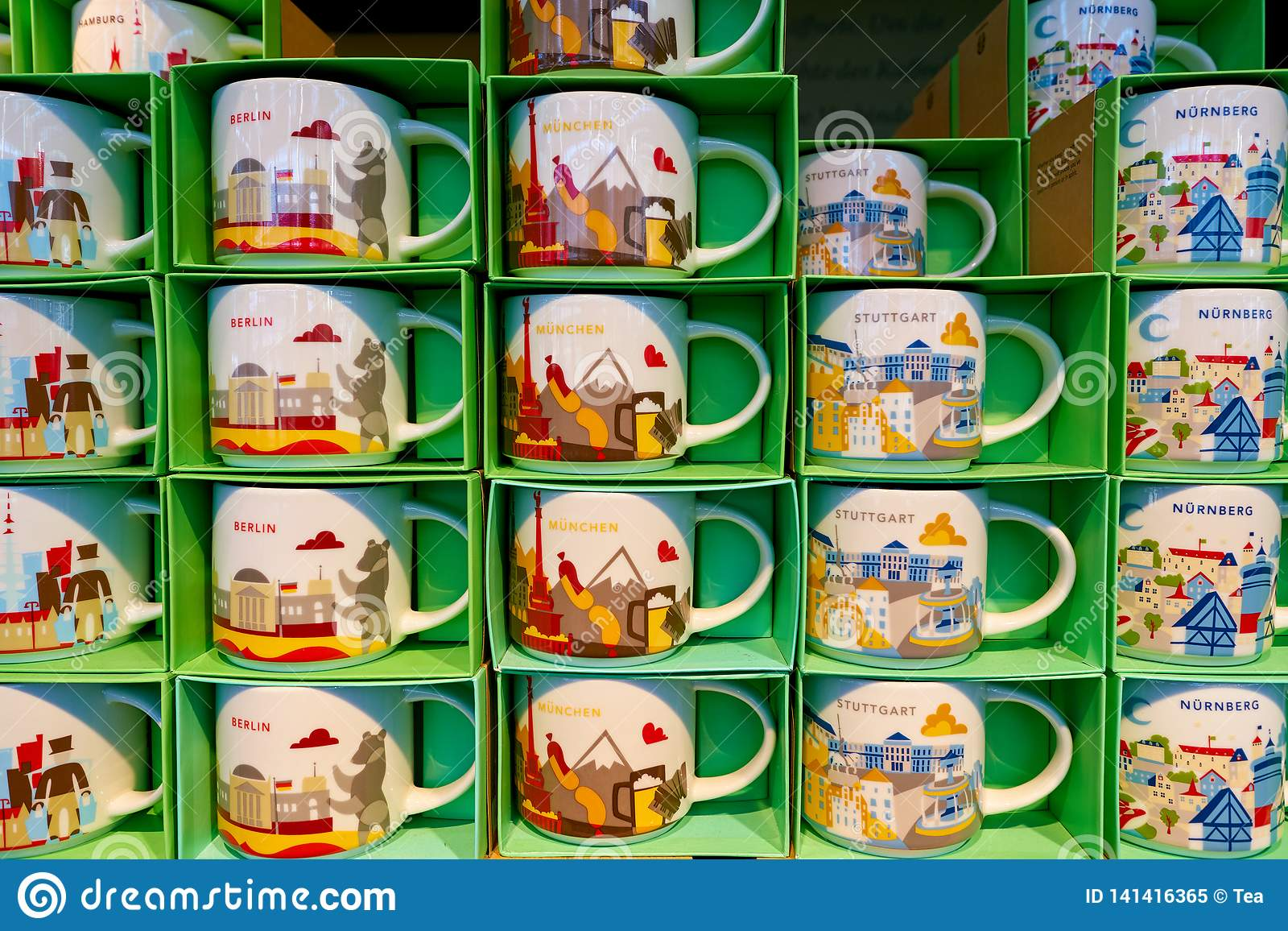 Starbucks Editorial Image Image Of Nurnberg Coffeehouse 141416365