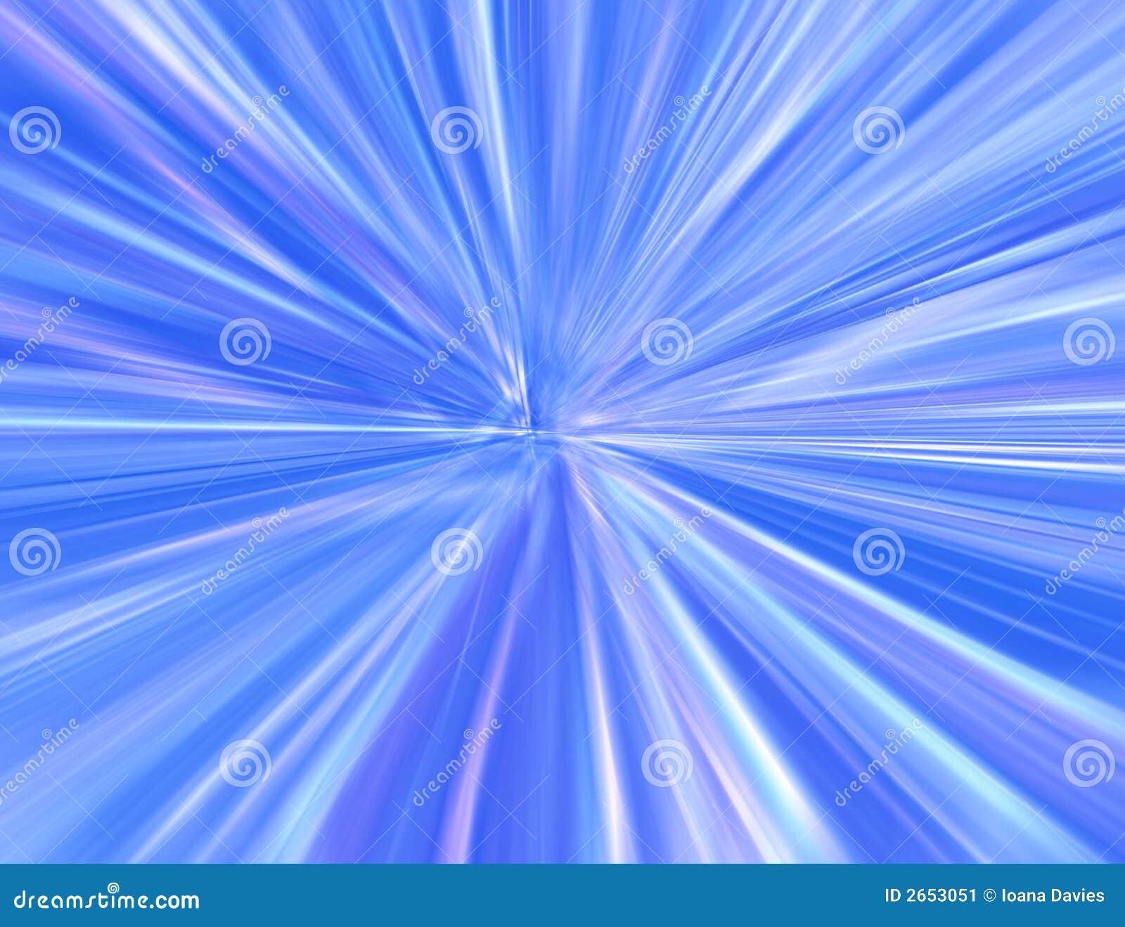 Starburst azul