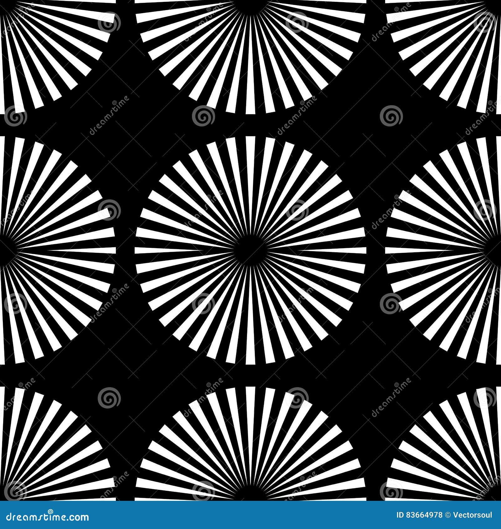 starburst rays beams seamless geometric pattern monochrome r stock I-Beam Machined starburst rays beams seamless geometric pattern monochrome r