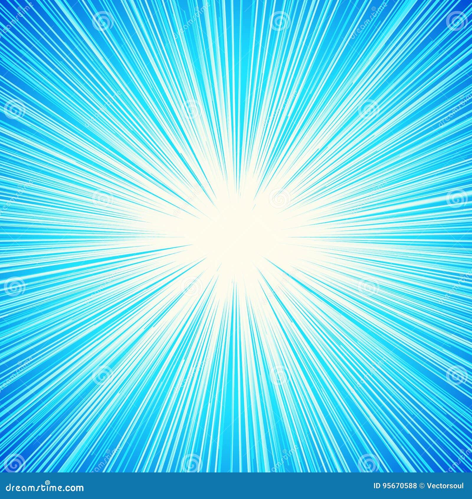Starburst, Sunburst, Rays Of Light Element  Circular, Radial
