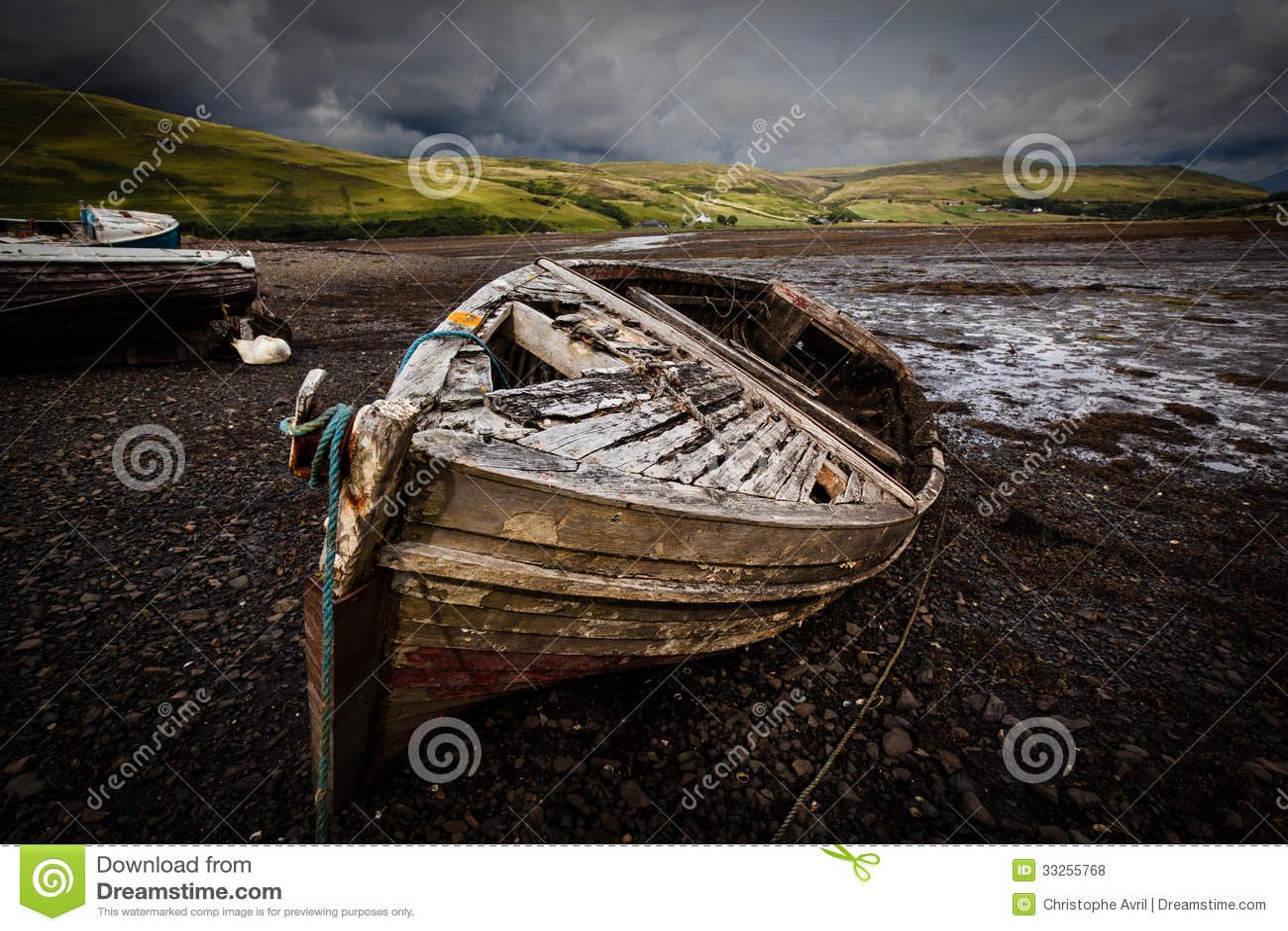 Stare łodzie