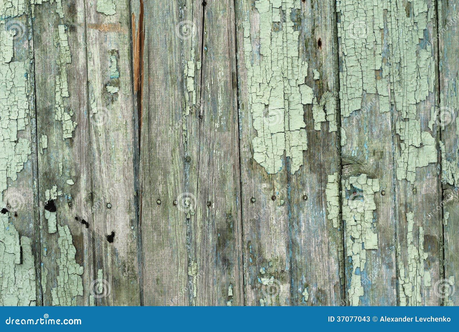 Download Stare Drewniane Deski Z Obieranie Farbą Obraz Stock - Obraz złożonej z farba, niektóre: 37077043