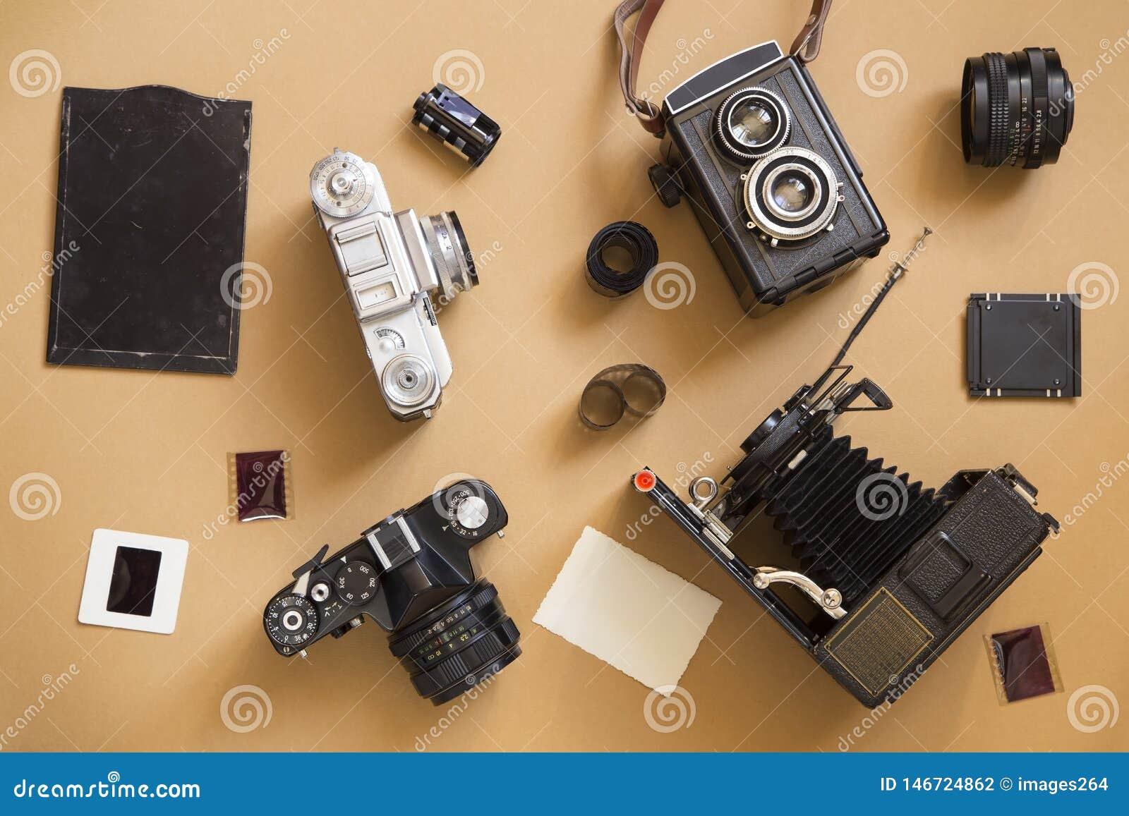 Stare kamery